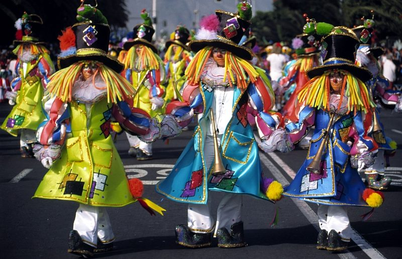 Karneval Teneriffa Maskengruppe