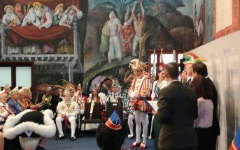 Karneval Teneriffa Puerto de la Cruz Delegation Karnevalsmuseum Prinz und Venetia