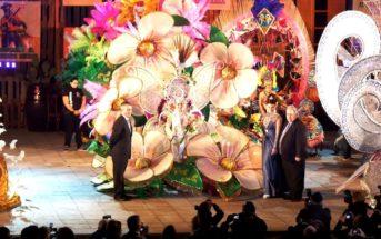 Karnevalskönigin 2014 Puerto de la Cruz Teneriffa Reina Virginia Molina
