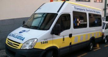 Unfall Teneriffa Krankenwagen