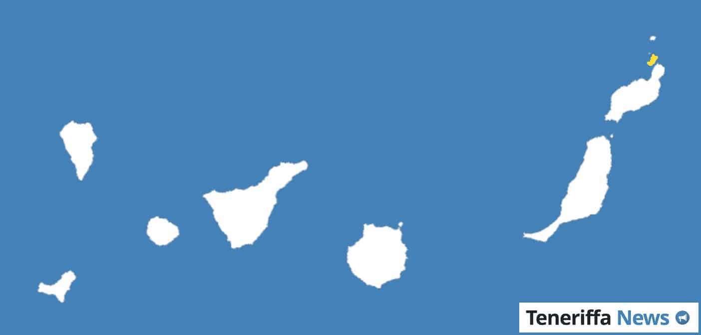 Kanaren Inseln Karte.La Graciosa Wird Achte Kanarische Insel