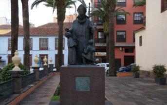 La Laguna Teneriffa Denkmal Papst Johannes Paul II