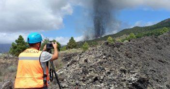 La Palma Vulkanausbruch Involcan Messung