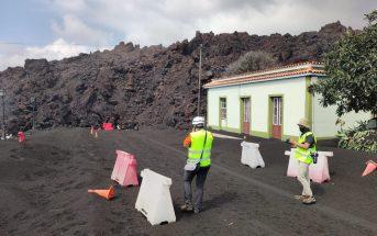 La Palma Vulkanausbruch Lava verschüttet Haus