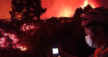 La Palma Vulkanausbruch Lava Temperatur