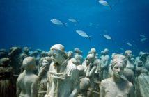 Lanzarote Meeresgrund Museum Kanaren Gruppe Fische