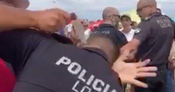 Messer-Angriff Polizist Spanien Strand 2019