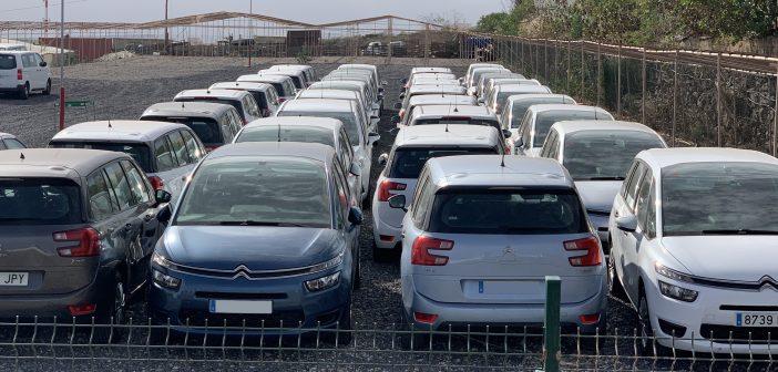 Mietwagen Parkplatz Kanaren Teneriffa Rent a Car
