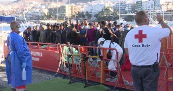Migration Kanaren Gran Canaria Flüchtlinge 10-2020