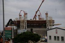 Öl-Bohrinsel Hafen Santa Cruz Teneriffa