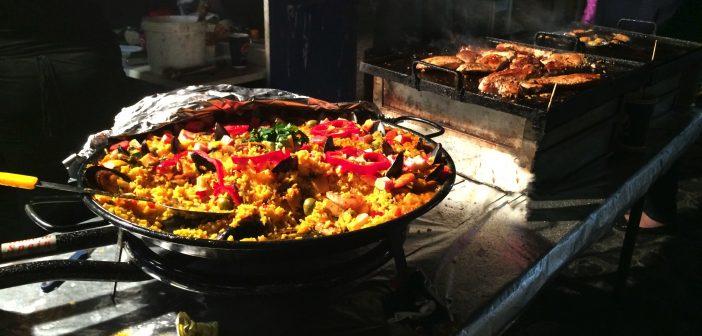 Paella, spanische Küche