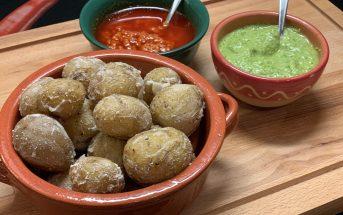 Papas arrugadas kanarische Kartoffeln Salzkruste Rezept lecker
