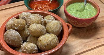 Papas arrugadas – Rezept für kanarische Runzel-Kartoffeln mit Salzkruste