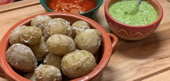 Papas arrugadas – Unser Rezept für kanarische Runzel-Kartoffeln mit Salzkruste