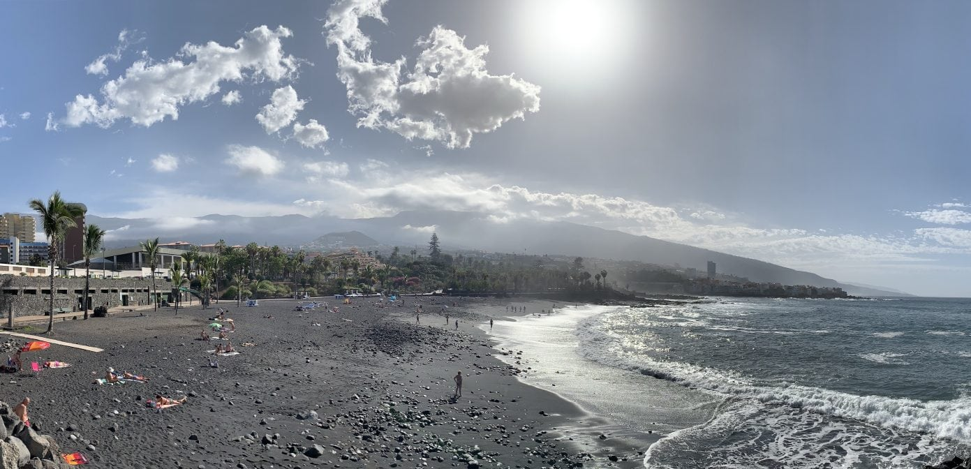 Playa Jardin Teneriffa Puerto de la Cruz