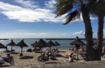 Playa del camison in Arona