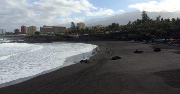 Playa Jardin Puerto de la Cruz Teneriffa