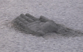 Sandkunst Playa Jardin Puerto de la Cruz