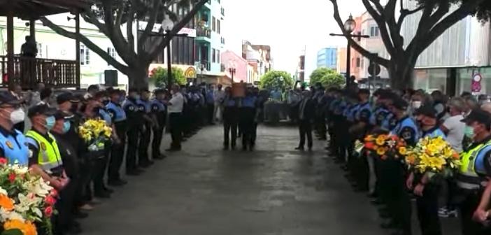 Polizist Herzinfarkt Tag der Pensionierung Telde Gran Canaria Kanaren