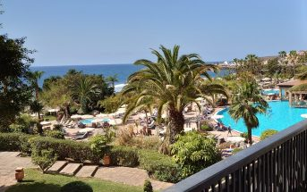 Pool Balkon Hotel H10 Costa Adeje Teneriffa