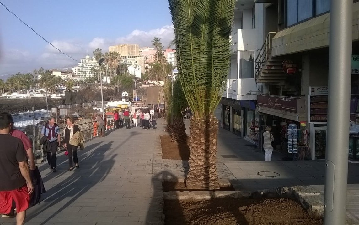 Promenade Puerto de la Cruz Umbau