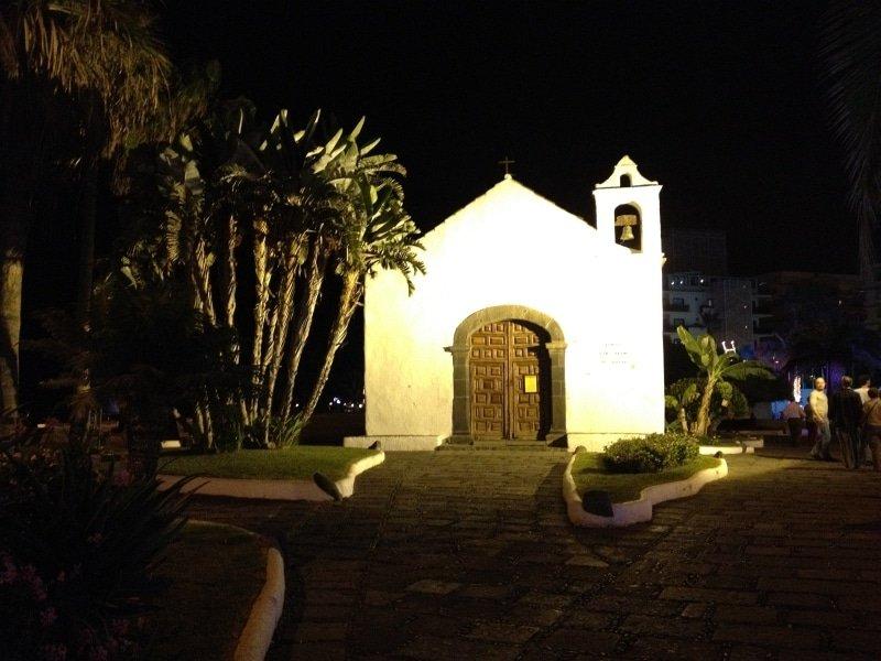 Die Kapelle San Temlo in Puerto