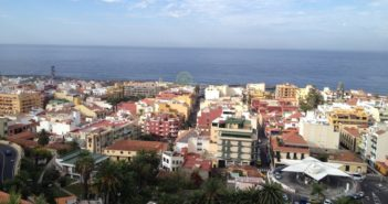 Ein Blick über Puerto de la Cruz
