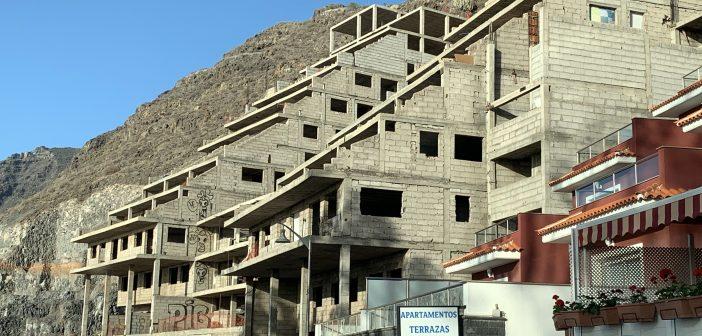 Rohbau Ruine Apartments Wohnungen Kanaren