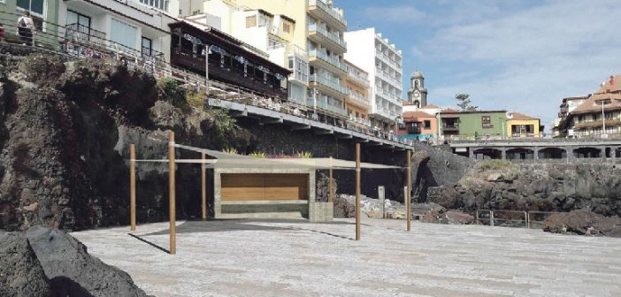 San Telmo Strand Kiosk Puerto de la Cruz Teneriffa