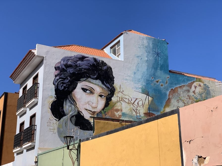 Street Art in Puerto de la Cruz: Alltagskunst im Stadtbild