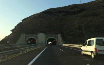 Teneriffa Autobahn TF-1 Tunnel