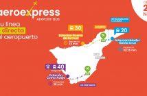 Teneriffa Flughafen Bus Aeroexpress 20 30 40
