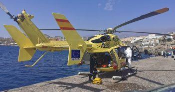 Teneriffa Migranten Flüchtlinge Unfall Rettungshubschrauber Boot