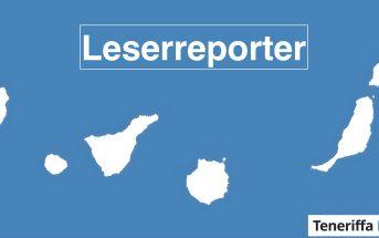 Teneriffa News Leserreporter