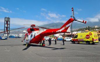 Teneriffa Rettungshubschrauber Puerto de la Cruz 112