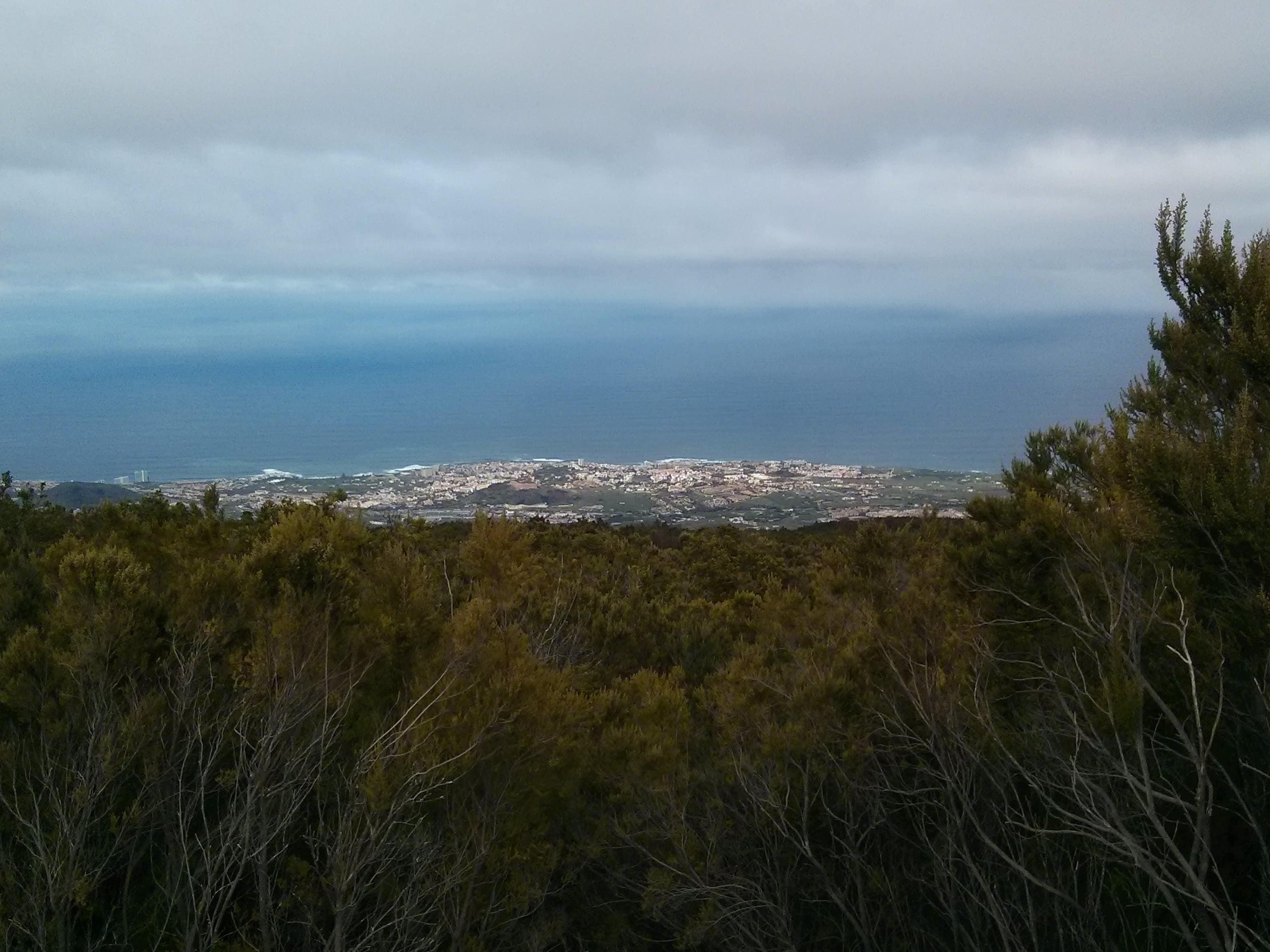 Teneriffa Teide Blick Puerto de la Cruz