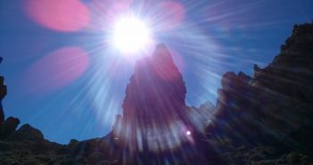 Teneriffa Teide Nationalpark Cañadas Sonne