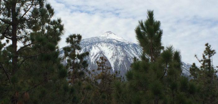 Teide Teneriffa Schnee
