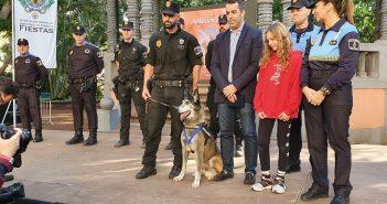Troy Hundestaffel Ruhestand Santa Cruz Teneriffa Polizei