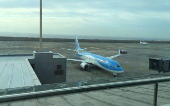 Tui-Flugzeug Teneriffa Süd Kanaren