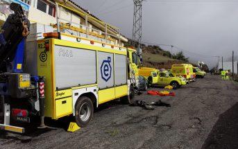 Unfall Gran Canaria Schlucht Galdar 112