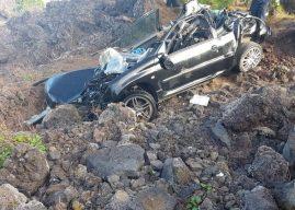 Hubschrauber-Einsatz und schwerer Unfall auf Teneriffa