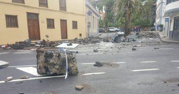 Unwetter Teneriffa Garachico Zerstörung