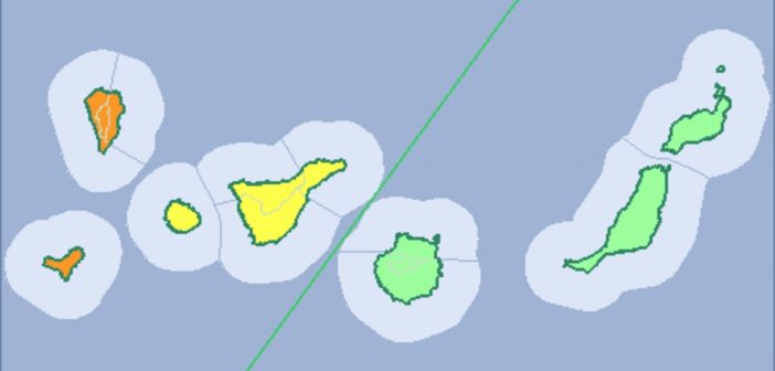 Unwetter-Warnung Kanaren