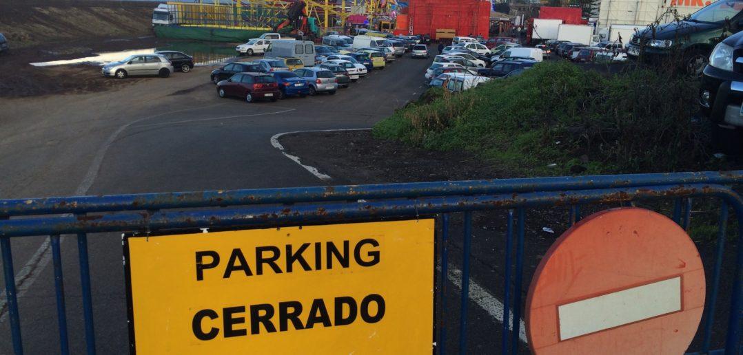 Verkehr Teneriffa Parken Durcheinander
