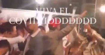 Viva el Covid Corona-Party auf Gran Canaria