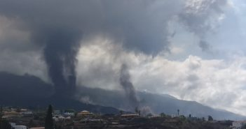 Vulkanausbruch La Palma Aschewolke