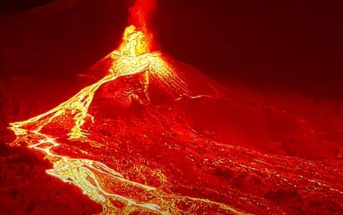 Vulkanausbruch La Palma Lava Lavastrom