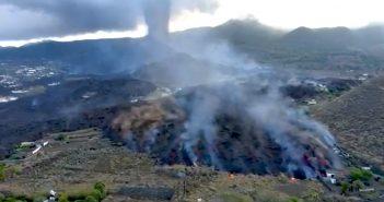 Vulkanausbruch La Palma Lavazunge