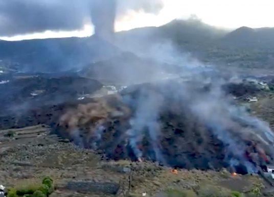 Vulkanausbruch auf La Palma: Lava zerstört 400 Häuser und 180 Hektar Land